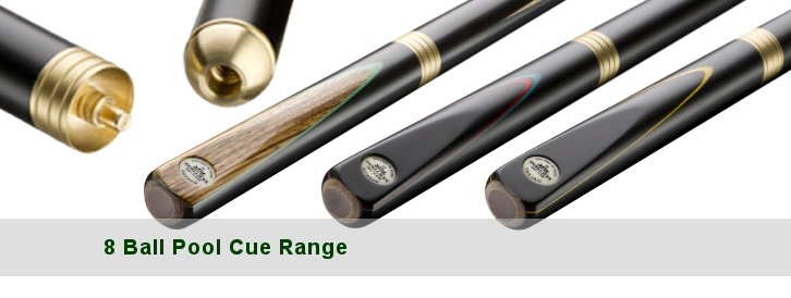 8 Ball Pool Cue Range