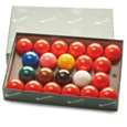Aramith 15 Red Snooker Sets